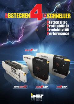 Cover Iscar Abstechen 4x schneller