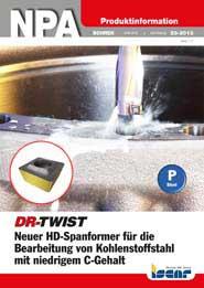 2013-23-npa-neuer-hd-spanformer-fuer-die-bearbeitung-von-kohlenstoffstahl-mit-niedrigem-c-gehalt