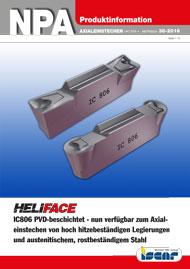 2016-38-npa-heliface-ic806-pvd-beschichtet-nun-verfuegbar-zum-axialeinstechen-von-hoch-hitzebestaendigen-legierungen-und-austenitischem-rostbestaendigem-stahl